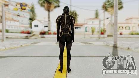 Mass Effect 2 Samara Black для GTA San Andreas третий скриншот