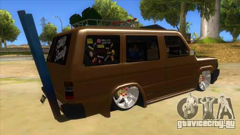 Toyota Kijang Grand Extra Full для GTA San Andreas вид справа