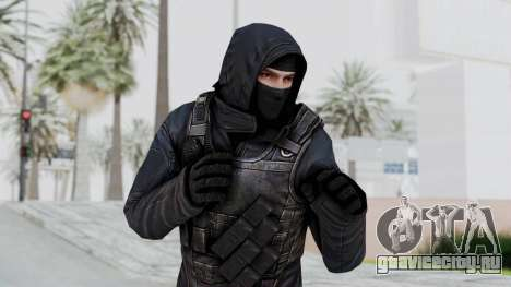 SAS No Gas Mask from CSO2 для GTA San Andreas