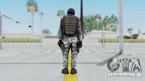 Black Mesa - HECU Marine v3 для GTA San Andreas третий скриншот