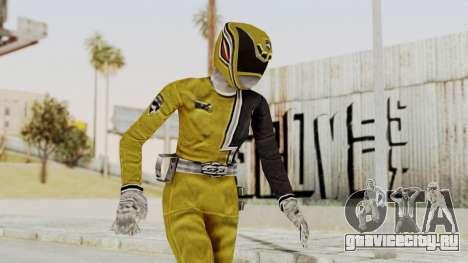 Power Rangers S.P.D - Yellow для GTA San Andreas