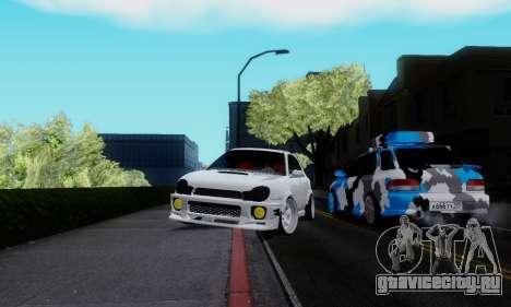 Subaru Impreza WRX STi Wagon Stens для GTA San Andreas вид справа