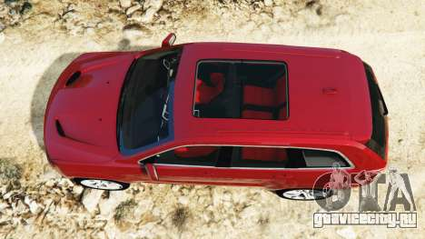 Jeep Grand Cherokee SRT-8 2015 v1.1 для GTA 5 вид сзади