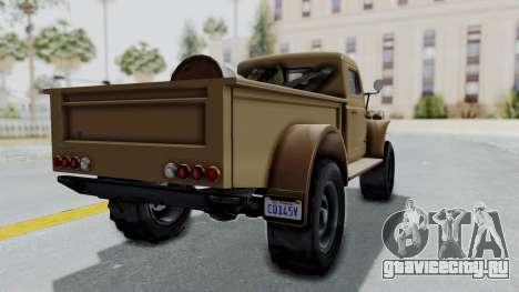 GTA 5 Bravado Duneloader Cleaner для GTA San Andreas вид слева
