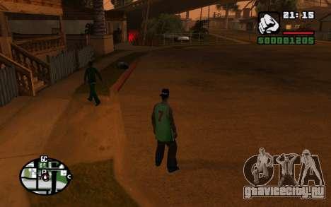 CJ Animation ped для GTA San Andreas седьмой скриншот