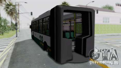 TodoBus Pompeya II Scania K310 Linea 28 для GTA San Andreas вид слева