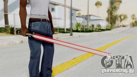 Star Wars LightSaber Red для GTA San Andreas