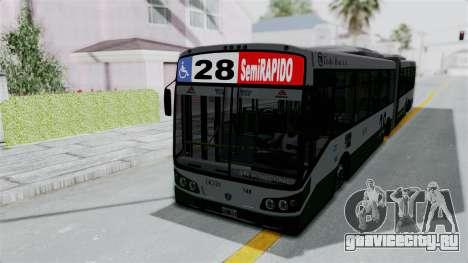TodoBus Pompeya II Scania K310 Linea 28 для GTA San Andreas вид справа