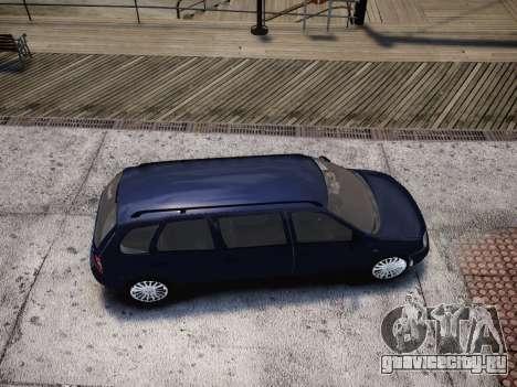 ВАЗ 1117 Калина 7-door для GTA 4 вид сбоку