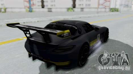 Mercedes-Benz SLS AMG GT3 PJ5 для GTA San Andreas колёса