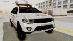 Mitsubishi Pajero Policia Nacional Paraguaya