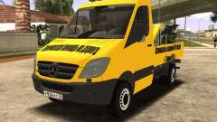 Mersedes-Benz Sprinter Towtruck для GTA San Andreas