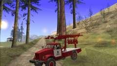 ГАЗ 63 АПГ-14 Пожарный автомобиль