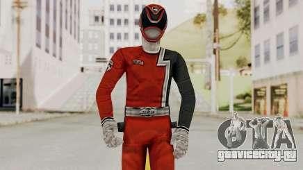 Power Rangers S.P.D - Red для GTA San Andreas