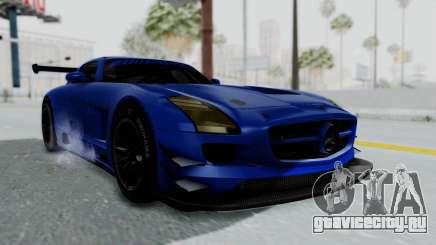 Mercedes-Benz SLS AMG GT3 PJ5 для GTA San Andreas