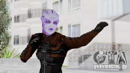 Mass Effect 1 Asari Shiala Commando для GTA San Andreas