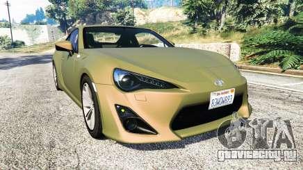 Toyota GT-86 v1.6 для GTA 5