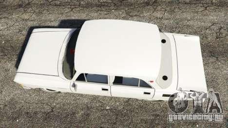 АЗЛК-2140 Москвич для GTA 5 вид сзади