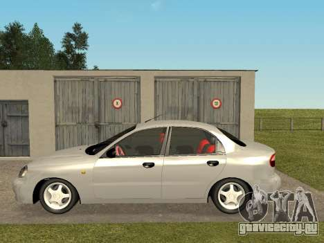 Daewoo Lanos (Sens) 2004 v1.0 by Greedy для GTA San Andreas вид слева