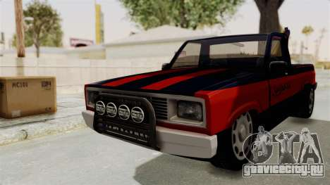 Mazda Tow Truck Pickup для GTA San Andreas