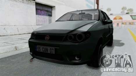 Fiat Albea для GTA San Andreas вид справа