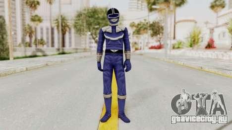 Power Rangers Time Force - Blue для GTA San Andreas второй скриншот
