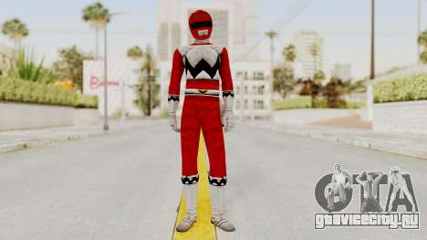 Power Rangers Lost Galaxy - Red для GTA San Andreas второй скриншот