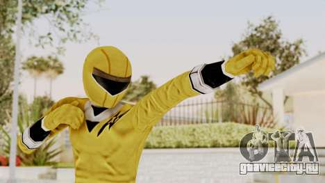 Alien Rangers - Yellow для GTA San Andreas