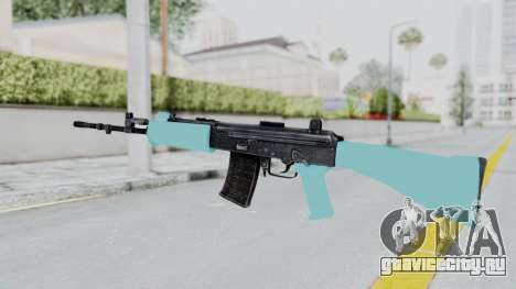 IOFB INSAS Light Blue для GTA San Andreas второй скриншот
