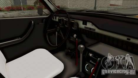 Dacia 1310 WNE для GTA San Andreas вид изнутри