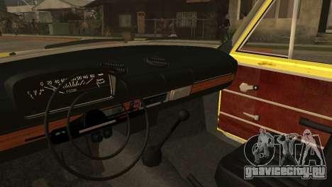 ВАЗ 2102 БК для GTA San Andreas вид сзади