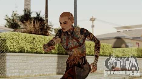 Mass Effect 2 Jack для GTA San Andreas