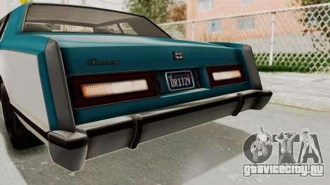 GTA 5 Dundreary Virgo Classic IVF для GTA San Andreas вид сверху