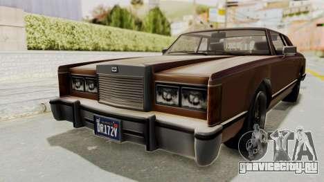 GTA 5 Dundreary Virgo Classic для GTA San Andreas вид сзади слева