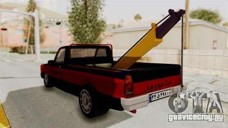 Mazda Tow Truck Pickup для GTA San Andreas вид справа