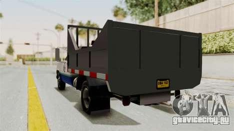 GMC Sierra 3500 для GTA San Andreas вид сзади слева