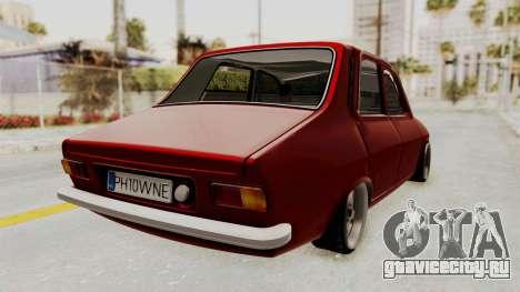 Dacia 1310 WNE для GTA San Andreas вид слева