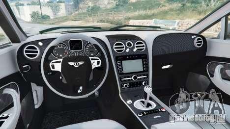 Bentley Mulsanne 2010 для GTA 5 вид сзади справа