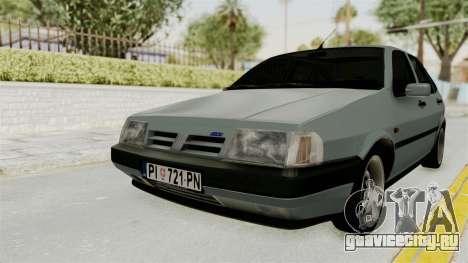 Fiat Tempra для GTA San Andreas вид сзади слева
