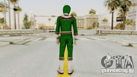 Power Ranger Zeo - Green для GTA San Andreas третий скриншот