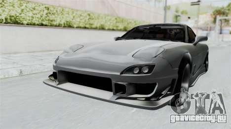 Mazda RX-7 FD3S HellaFlush для GTA San Andreas вид справа