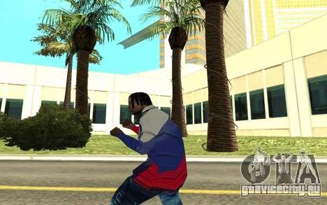 Grove Street Gang Member для GTA San Andreas третий скриншот