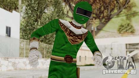 Power Ranger Zeo - Green для GTA San Andreas