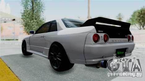 Nissan Skyline BNR32 Hot Version для GTA San Andreas вид слева