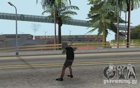 Новый бомж для GTA San Andreas третий скриншот