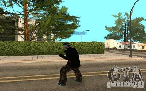 Varios Los Aztecas Gang Member v5 для GTA San Andreas третий скриншот