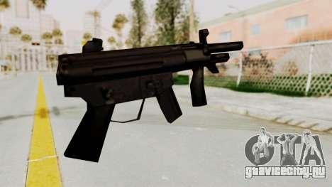Liberty City Stories SMG для GTA San Andreas второй скриншот