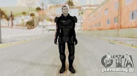 Mass Effect 2 Shepard Default N7 Armor No Helmet для GTA San Andreas второй скриншот