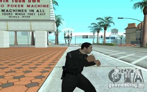 Los Santos Police Officer для GTA San Andreas третий скриншот