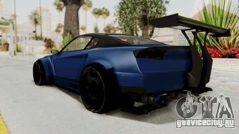 GTA 5 Annis Elegy Twinturbo Spec для GTA San Andreas вид слева